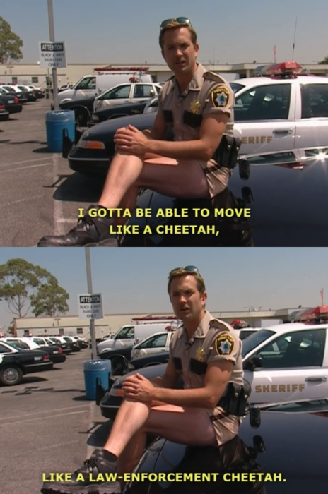 ha! Reno 911! Love lt. Dangle's shorts