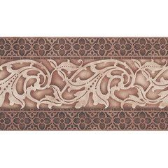 Large Reverse Scroll Border Stencils designs