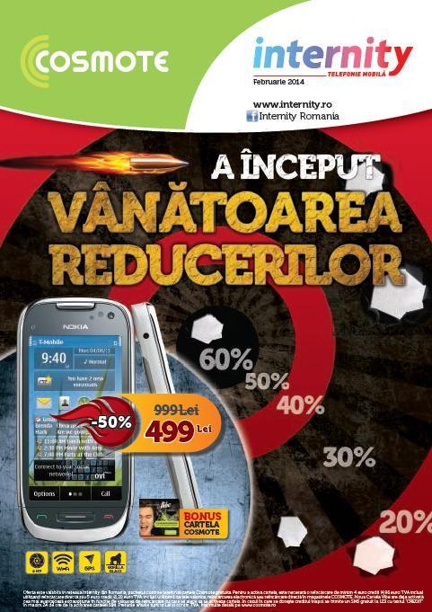 Internity catalog oferte speciale si reduceri de pana la 60%, la #telefoane & accesorii in luna Februarie 2014! #Internity #catalog #promotii #februarie #2014