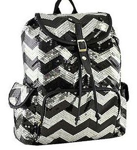 Sequin+Chevron+Backpack+by+PlatinumThreads+on+Etsy,+$35.00
