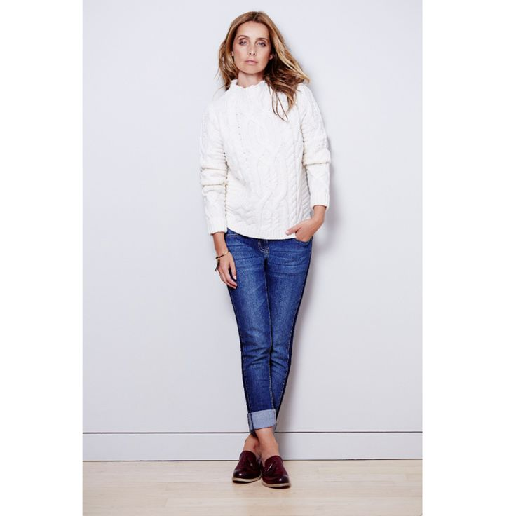 The perfect jeans and Autumn jumper combo - Fashion Tips   Good Housekeeping