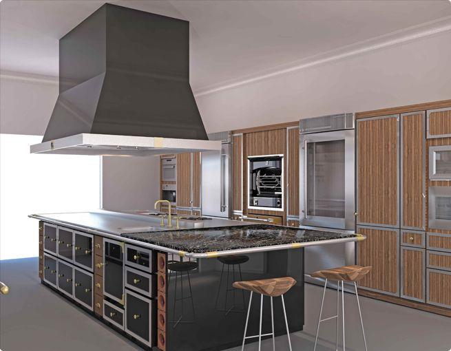 Lacornue Island In Kitchen Part 76