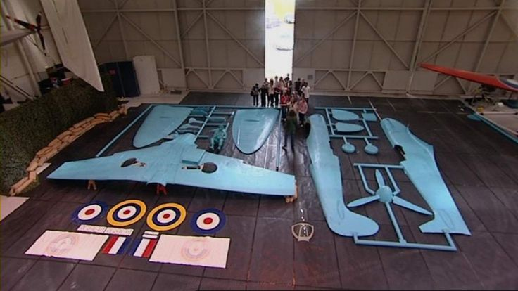 Thats What I Call Full Scale Model Airfix 11 Scale Spitfire Model