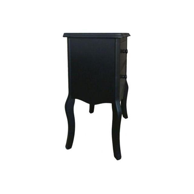 1000 ideas about chevet noir on pinterest chevet - Table chevet noire ...