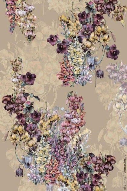 Итальянский хлопковый джерси К-689 - красивая ткань,именная ткань,именные ткани