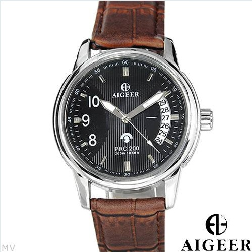 $54.00  ALGEER Brand New Gentlemens Date Automatic Watch