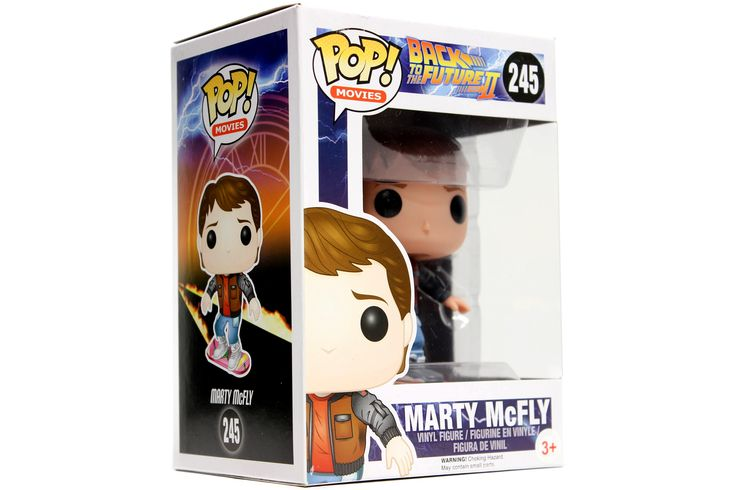 POP! Movies: Back To The Future - Marty McFly [Hoverboard]