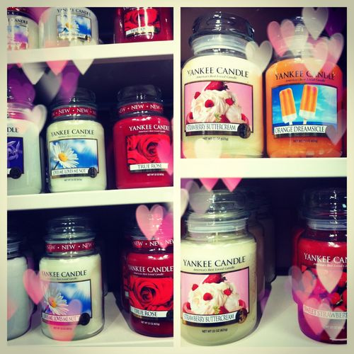 Yankee Candles ♥ smell lasts forever x