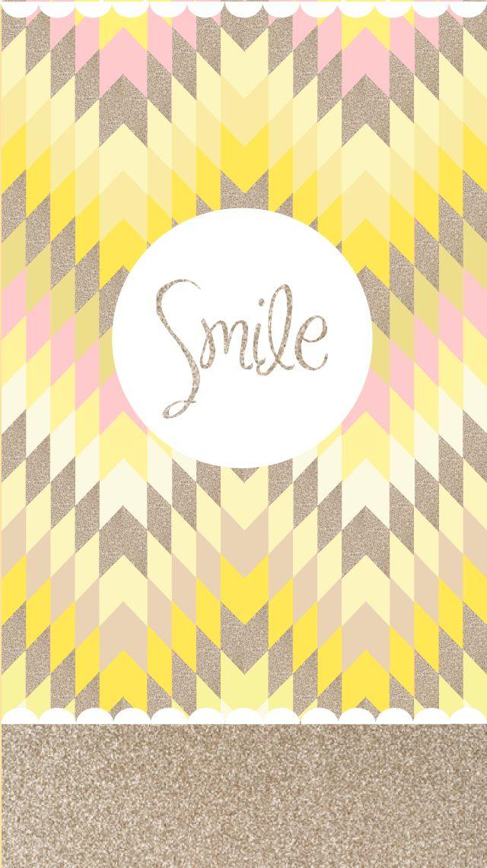 """Font d'écran """"Smile"""" 1"""