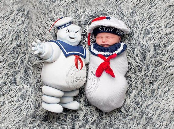 DIY Newborn Halloween Costumes