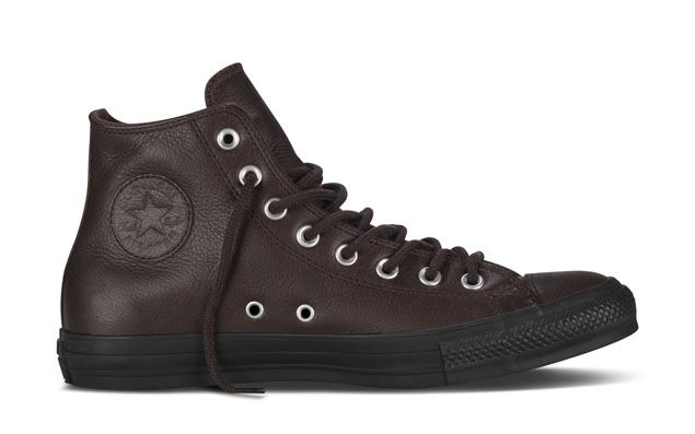Converse Winterizes the Chuck Taylor In Sleek Leather
