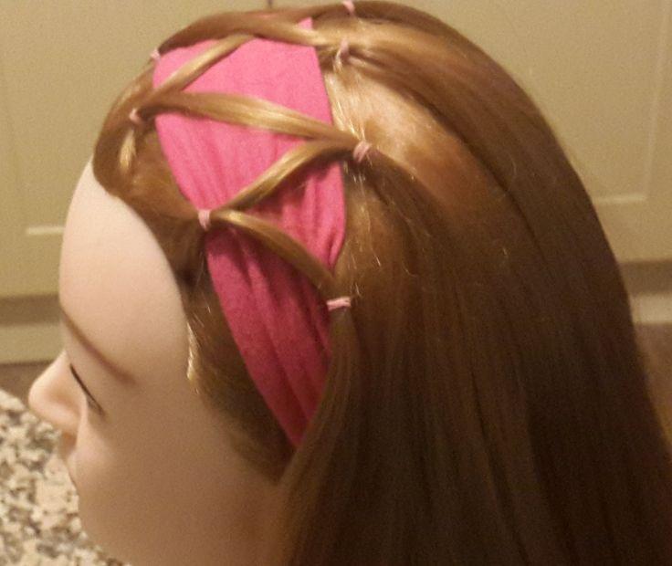Saç Modelleri 6 - Bandanalı saç modeli / hairstyle with bandana / Fermoon