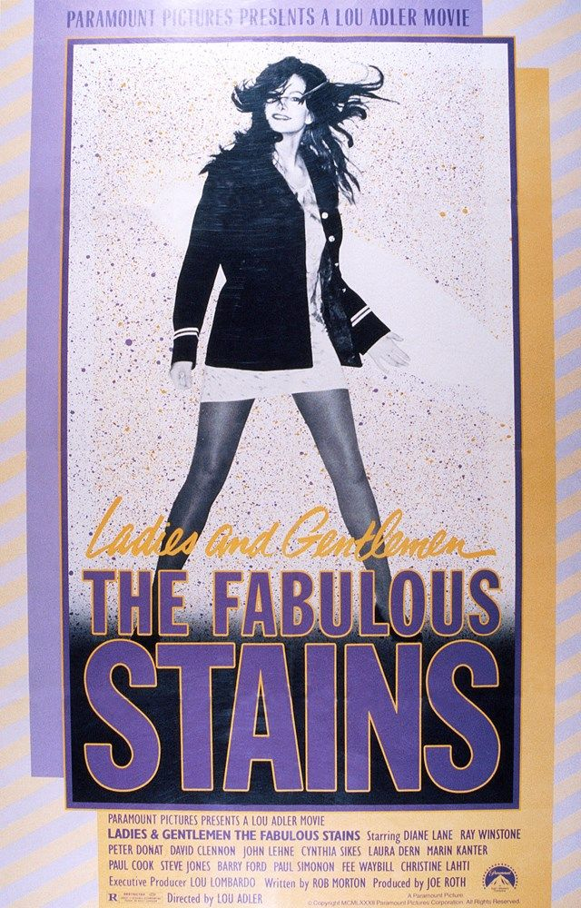 Ladies and Gentlemen, the Fabulous Stains (1982) Stars: Peter Donat, Diane Lane, Marin Kanter, Laura Dern, 	Christine Lahti, Ray Winstone ~Director: Lou Adler