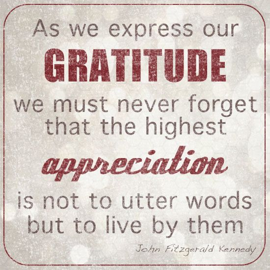 Words Of Thanks And Appreciation Quotes: 1000+ Ideas About Words Of Gratitude On Pinterest