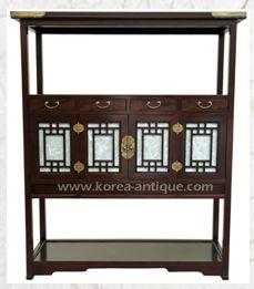 KOREAN FURNITURE   Oriental furniture - korean furniture D-4 CONSOLE TABLE (KOREAANTIQUE)