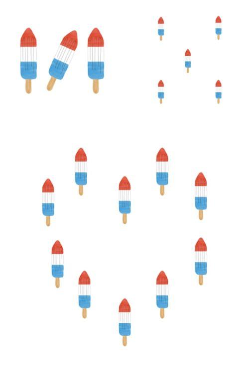 Happy Australia Day! #straya #popsicle #dessert