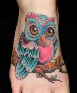 owl tattoo designs | Download Tattoos Gt Page 194 Colorful Traditional Owl