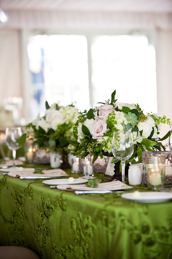 37 best lucky charm wedding images on pinterest wedding for Kelly green decor