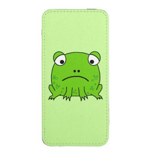 Sad Frog iPhone SE/5/5s/5c Pouch