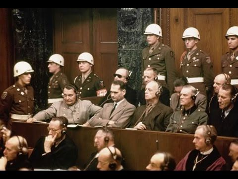 History Channel documentary Nuremberg Trials World War II Documentary - YouTube