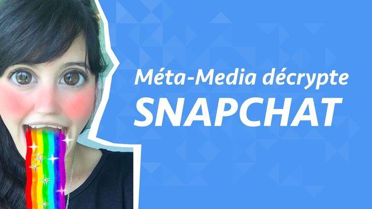 #ReseauxSociaux: Méta-Media décrypte #Snapchat