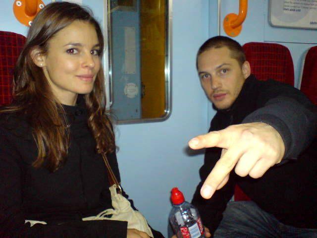Tom Hardy and Rachael Speed