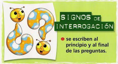 EL PUNTO   LOS SIGNOS DE INTERROGACIÓN Y EXCLAMACIÓN                 FUENTES: elbloggdeelena   evamoliva.blogspot