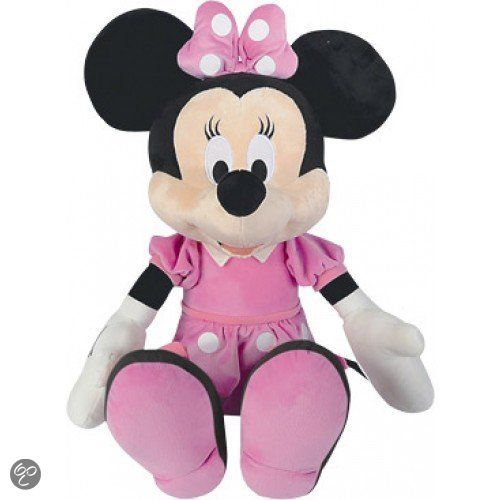 originele disney knuffel van 35 cm welk kind wil niet zo 39 n echte minnie mouse knuffel met mooi. Black Bedroom Furniture Sets. Home Design Ideas