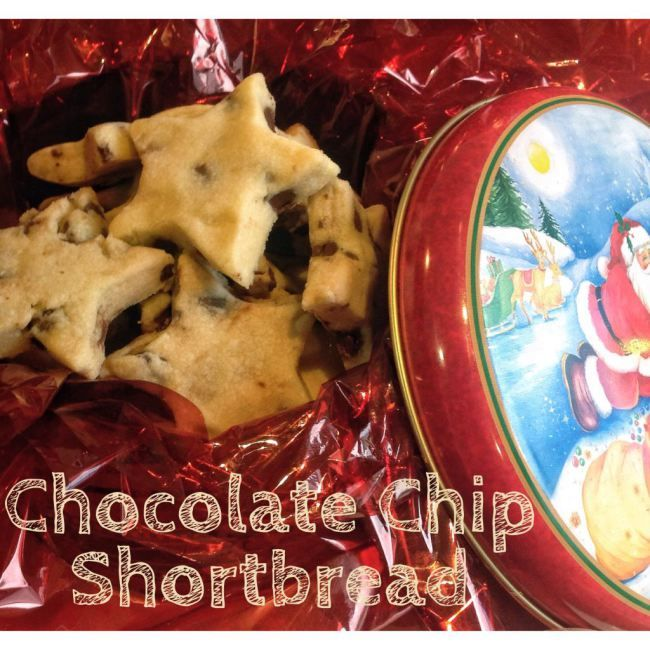 Nola's Chocolate Chip Short Bread (Thermomix Method Included) « Mother Hubbard's Cupboard