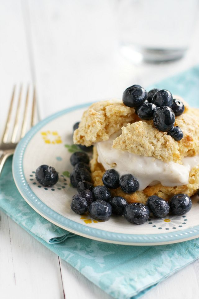 ... Simple, Blueberry Shortcake, Simple Blueberries, Blueberries Shortcake