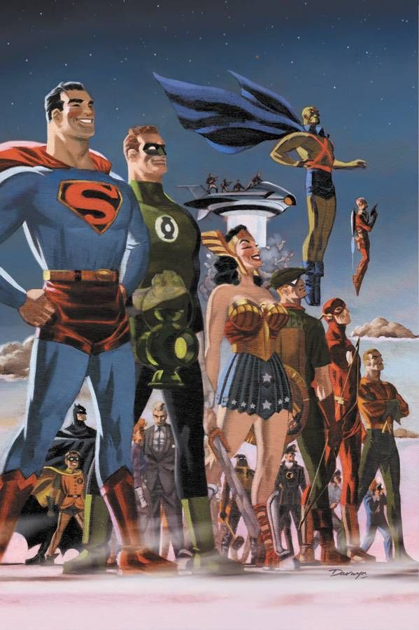 Justice League by Darwyn Cooke