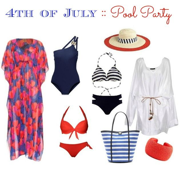 4th of july pool party food