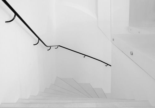 Online store Fifth Avenue Shoe Repair in now has a concept store in Sweden by Swedish architects GUISE. Amazing use of white space and minimal black vector-ish furniture.