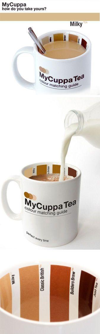 My Cuppa Tea Color Matching Mug