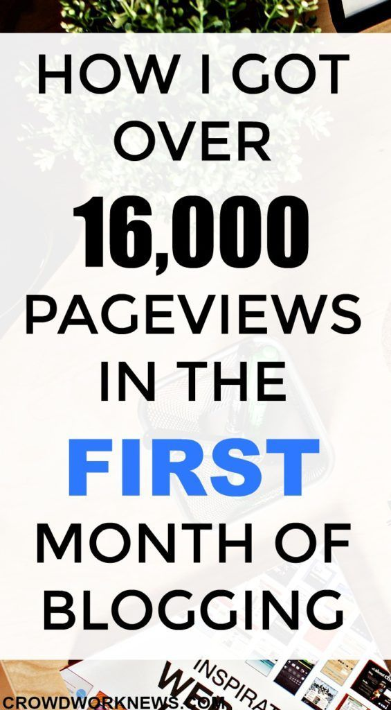 First month of blogging can be very overwhelming. Want to know how I managed to get 16,000 page views in my first month of blogging.  My second source of traffic being StumbleUpon.