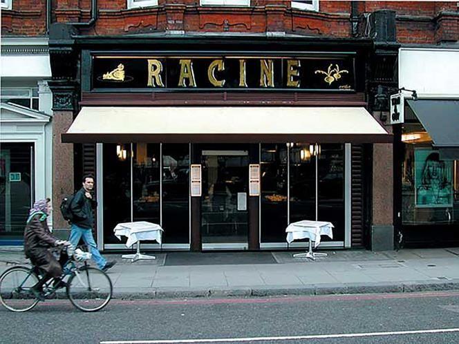 Racine restaurant is a little bit of Paris in the middle of Knightsbridge, London