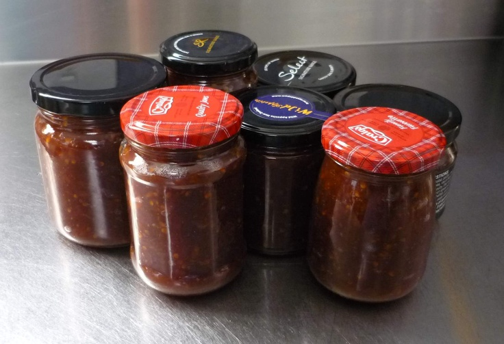 Tamarillo chutney ( leave for at least a month to mature)