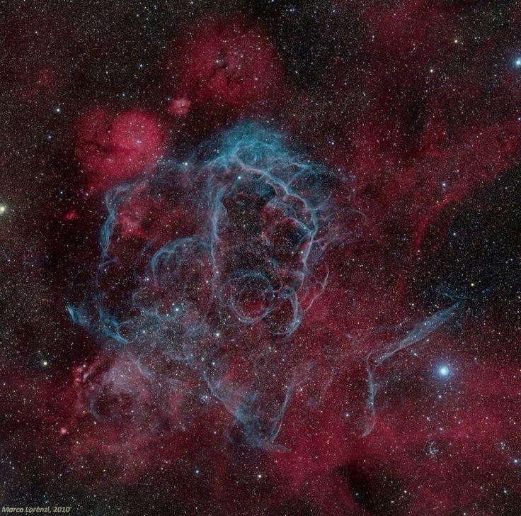 'Vela Supernova Remnant' Image:   via #NASA_App pic.twitter.com/AqqStv5SrY