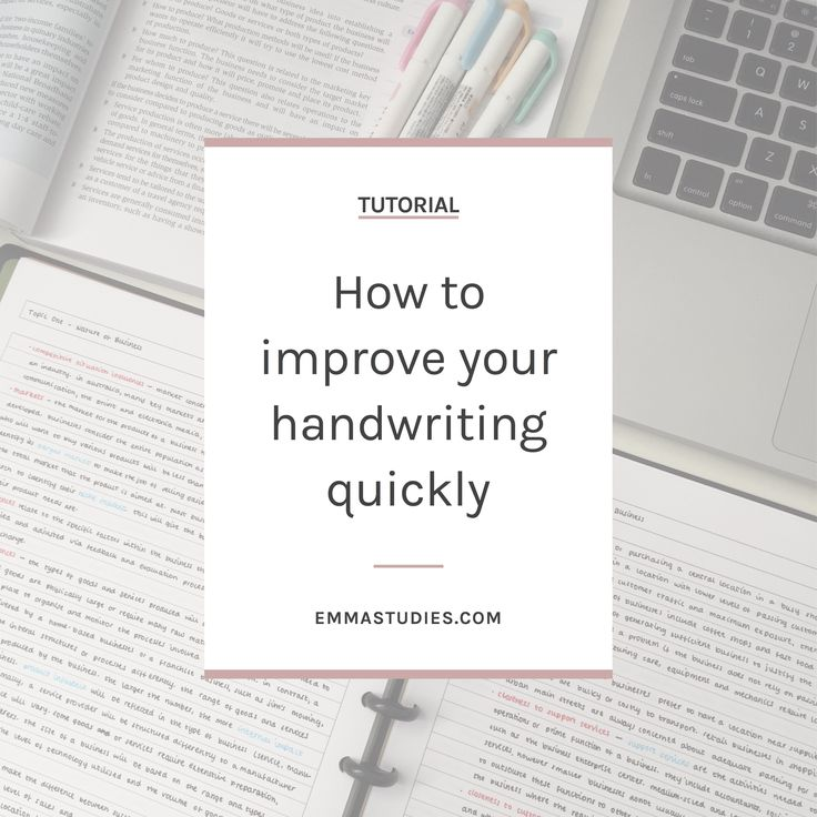 How to improve your handwriting and cursive