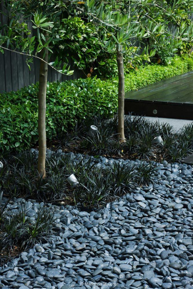 Egy otthon inspirálta kert - Fekete színek a kertben - Dekor és Mentha