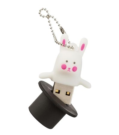 USB-Stick Kaninchen im Hut, 8 GB - HEMA