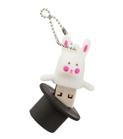clé USB lapin et chapeau 8Go - HEMA