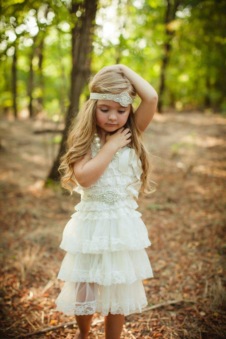 Best 25 vintage flower girls ideas on pinterest fall flower magical moments flower girl dress ombrellifo Images