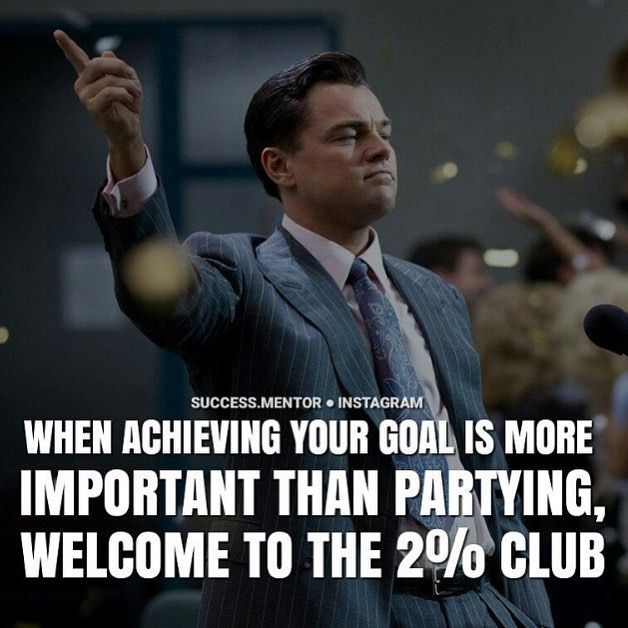 Yep. Partying isn't going to get me into med school lol