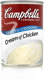 From Cream of Chicken to Tomato and everything in between, we make delicious soups in flavours you know and love. Make Campbell's® Condensed soups your secret ingredient with our Top Ten Chicken Soup Recipes! 10 – Cheesy Chicken Potato Casserole Campbell's soups have been used in casseroles for decades. As a sauce, thickener and taste …