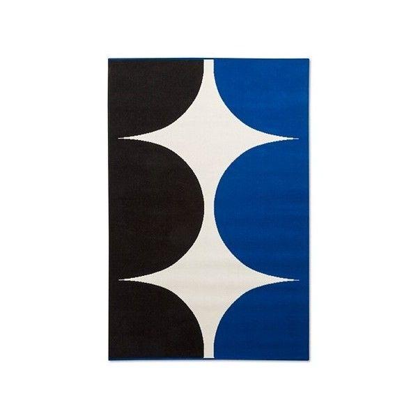 Marimekko For Target Outdoor Rug 5u0027x7u0027 Harka Print Blue (1,150 PHP)