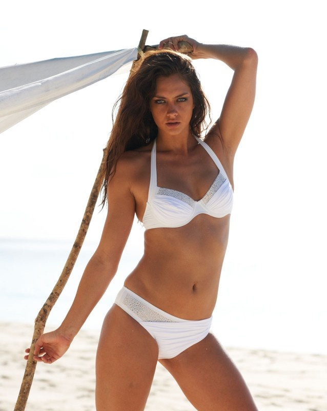 Candice Boucher for Ta-bou Swimwear