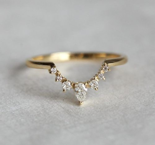 50 stunning wedding rings for the unique bride - Alternative Wedding Rings