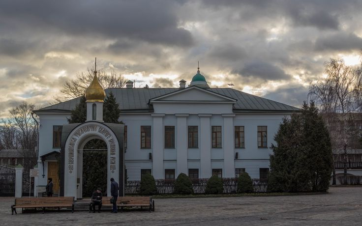 Danilov Monastery Yard - Danilov Monastery, in full Svyato-Danilov Monastery or Holy Danilov Monastery is a monastery on the right bank of the Moskva River in Moscow, Russia.