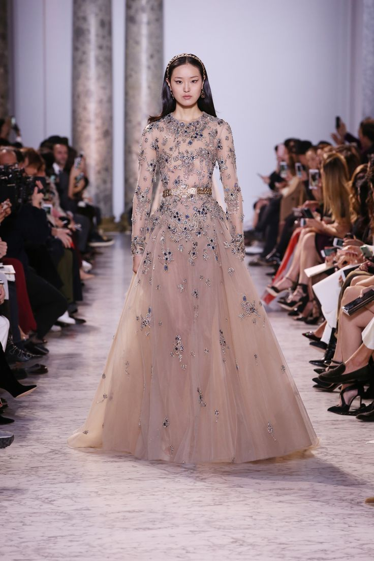 759 best elie saab haute couture images on pinterest for Designer haute couture dresses